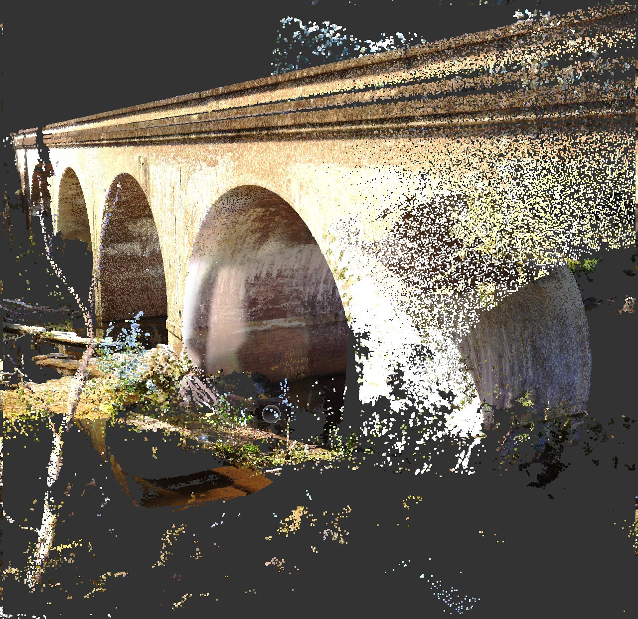 Site documentation with 3D images, The Bargo Viaduct