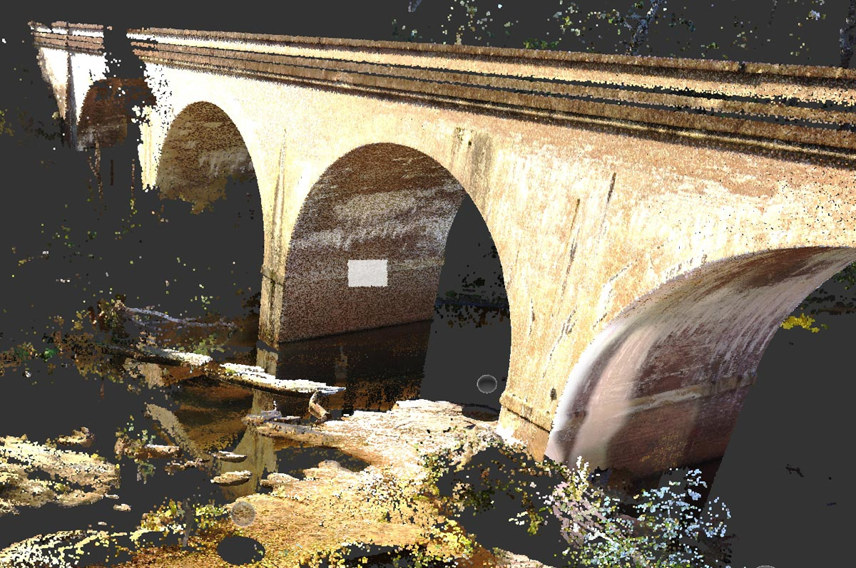 3D images of Bargo Viaduct