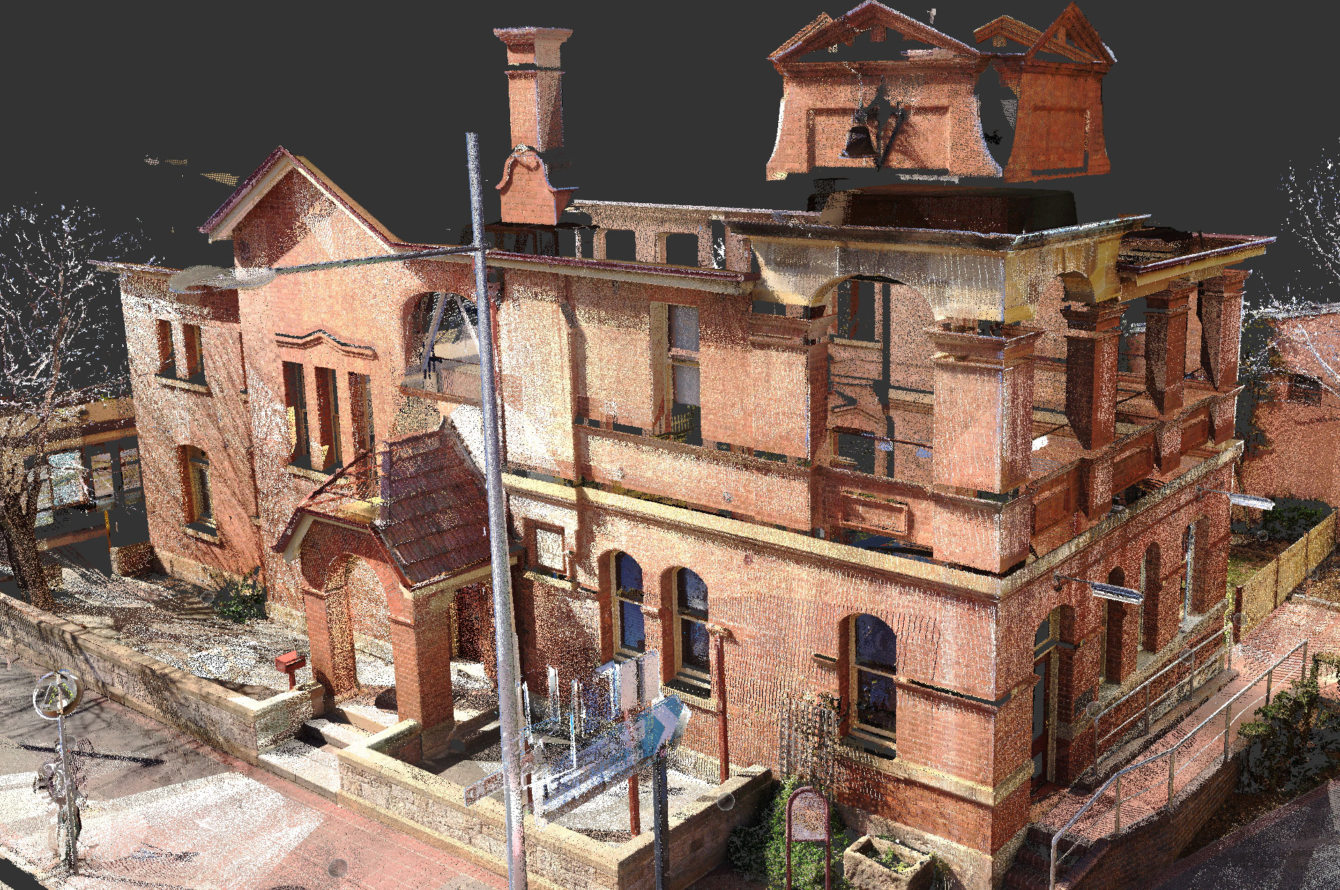 3D building scanner, Picton Post Office
